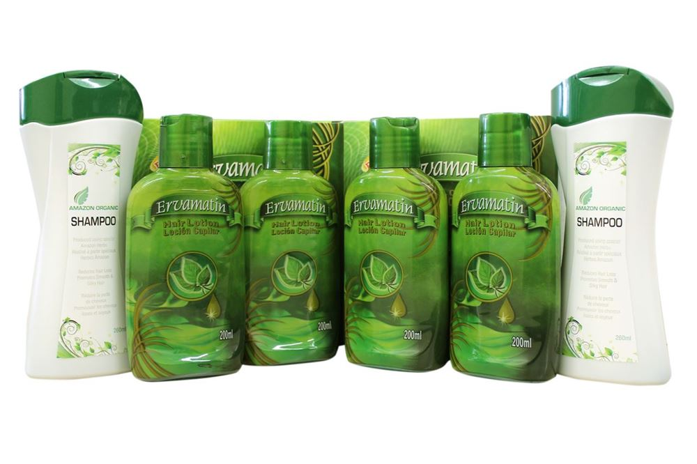 Picture of 2 sets Ervamatin™ & 2 Organic Shampoo